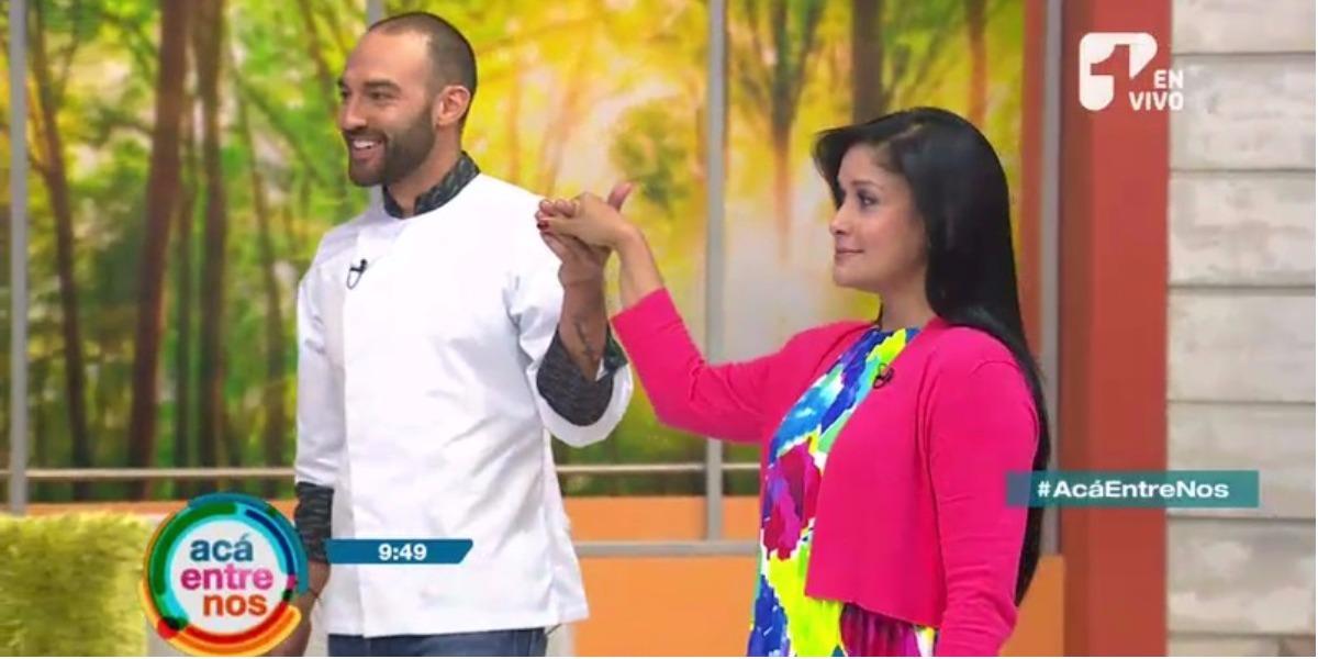 Revive el baile de nuestros presentadores en Acá Entre Nos - Foto: Captura de pantalla.