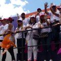 Caminata solidaridad por Colombia