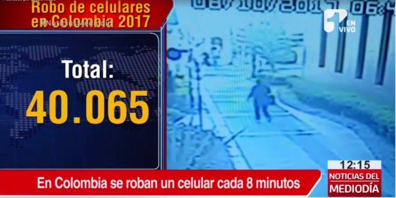 Estos son los celulares que más roban en Colombia - Foto: captura de pantalla.