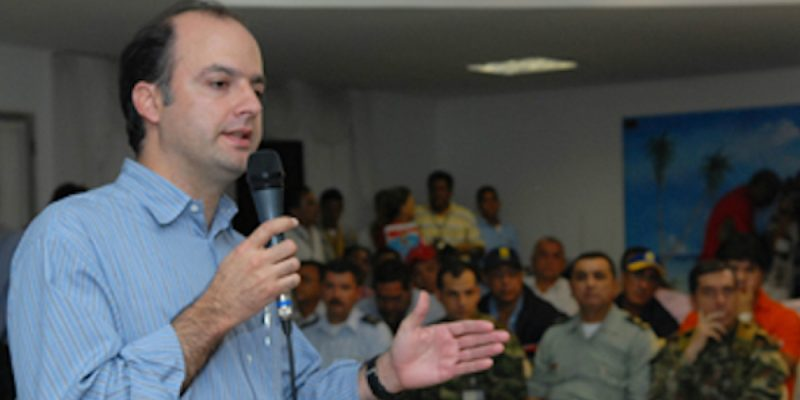 Gabriel Garcia Morales exministro