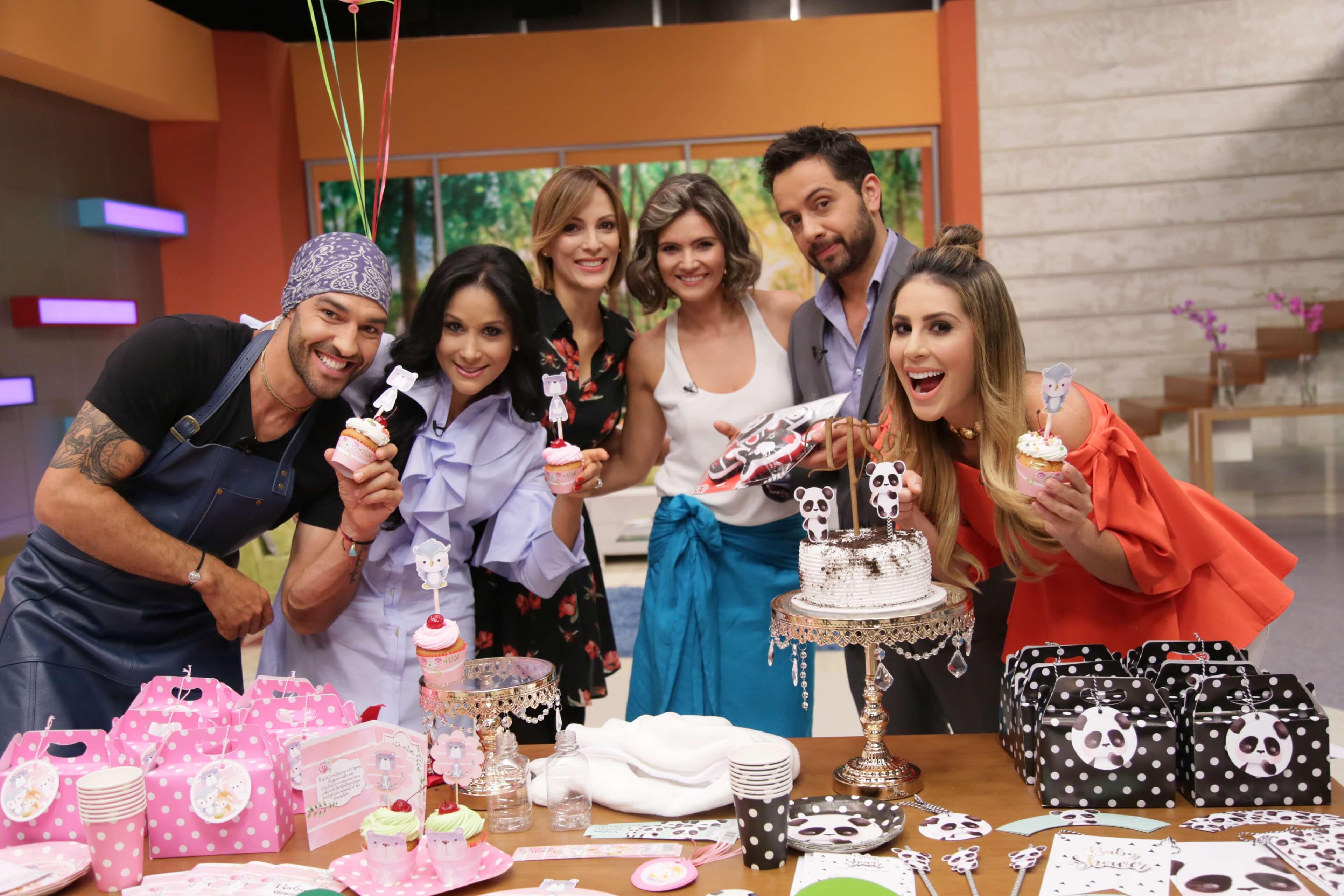 Yalena Jácome celebró su primer baby shower en «Acá Entre Nos»