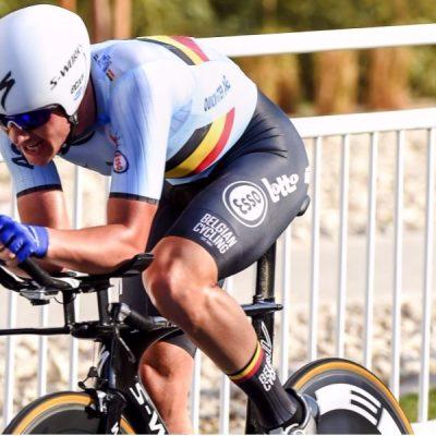 Yves Lampaert es el líder de la Vuelta a España - Foto: AP.