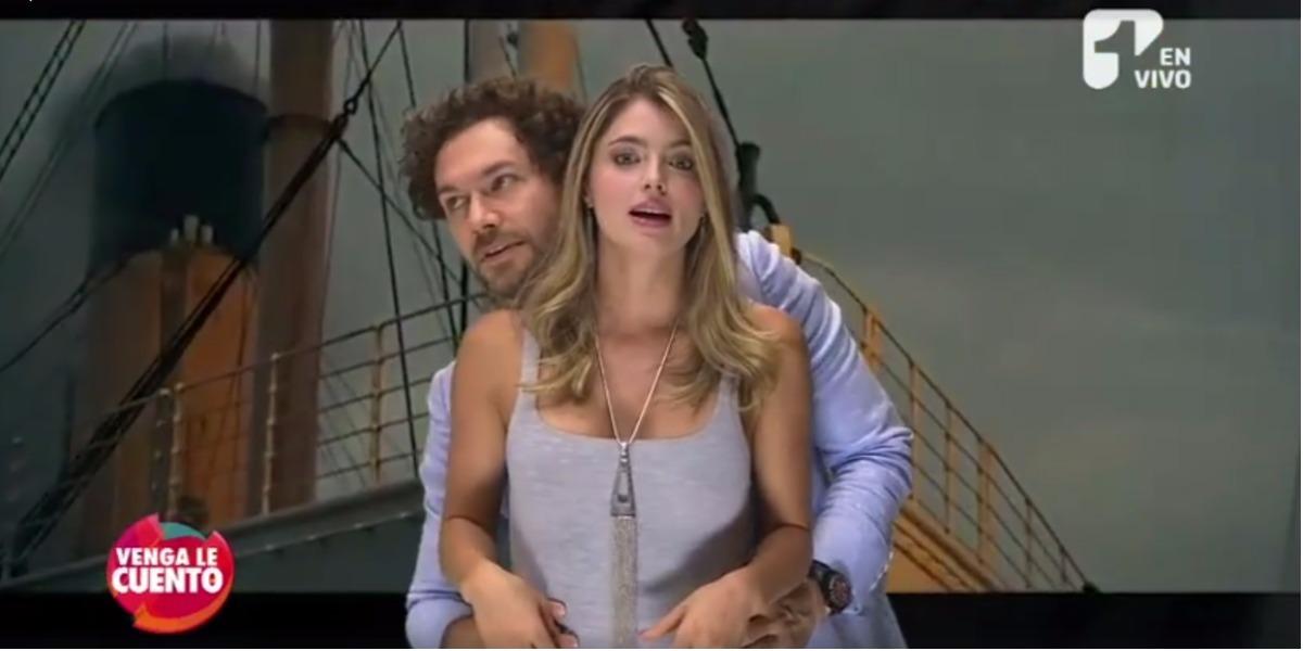 Titanic al estilo de Cristina Hurtado y Josse Narváez - Foto: Captura de pantalla.
