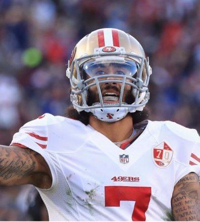 Colin Kaepernick es el símbolo de la lucha contra el racismo en la NFL - Foto: Colin Kaepernick