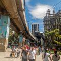Medellín ciudad metro elevado - 123rf