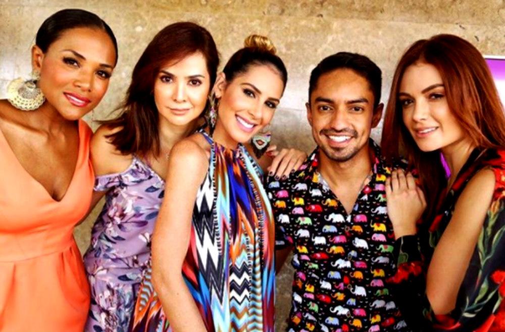Los talentos del Canal 1 se roban las miradas en Cartagena