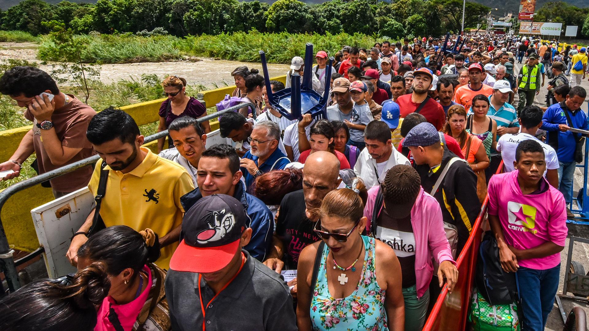 En Colombia hay más de 550.000 venezolanos