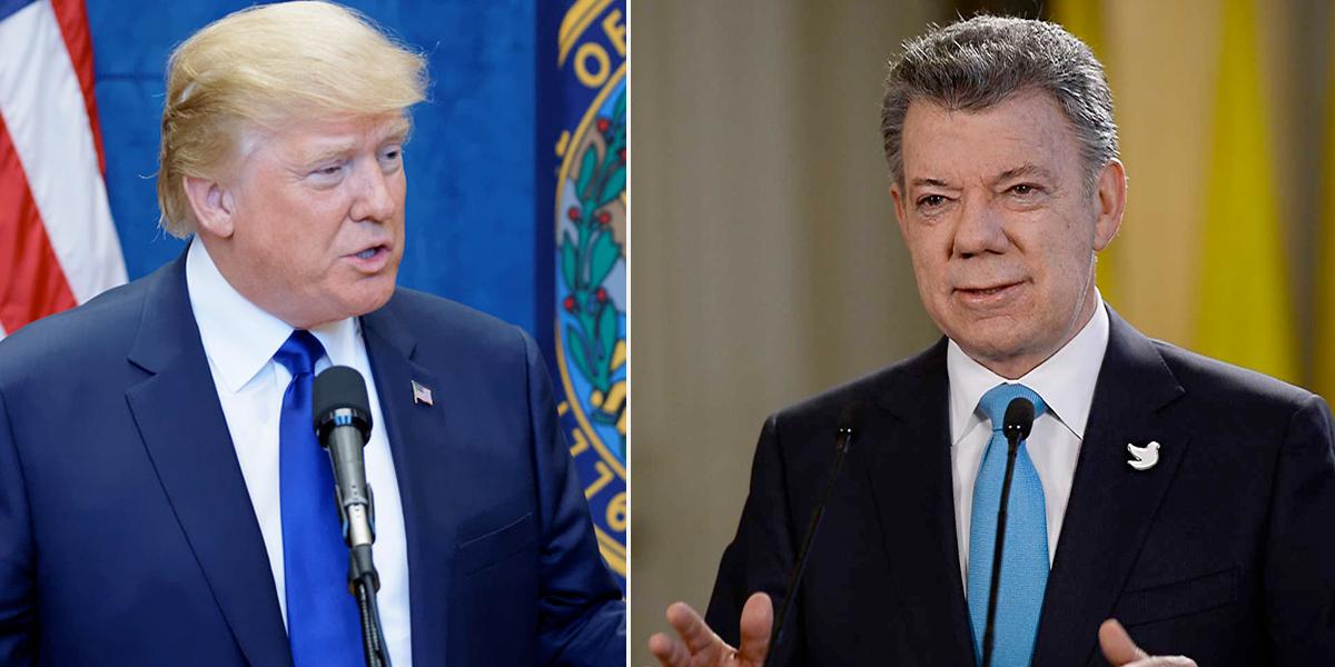 Santos se reunirá hoy con Trump en Nueva York