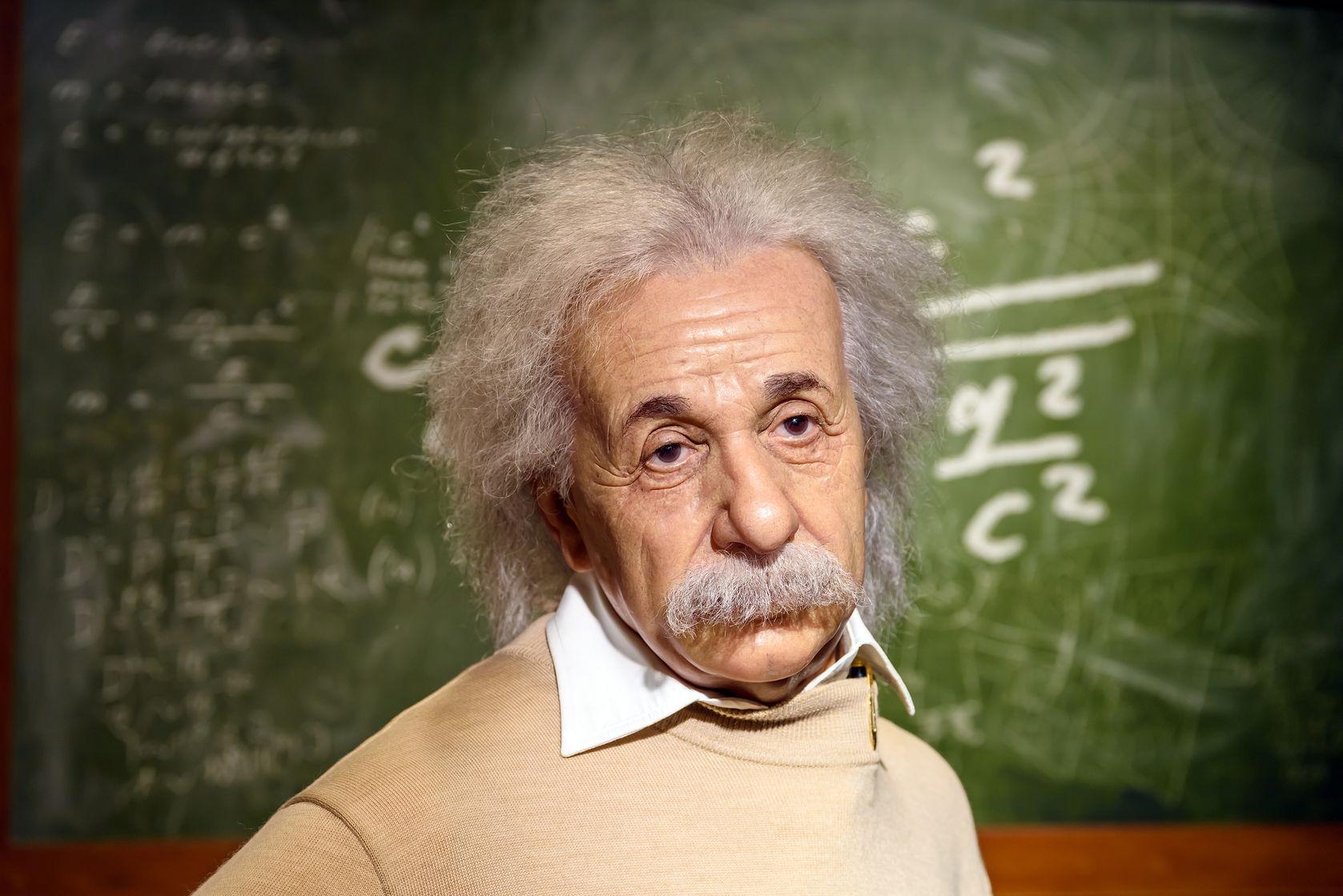 Lo que se necesita para ser feliz, según Albert Einstein