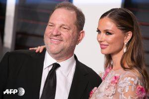 Harvey Weinstein y Georgina Chapman / PH: Adrian Sanchez Gonzalez AFP