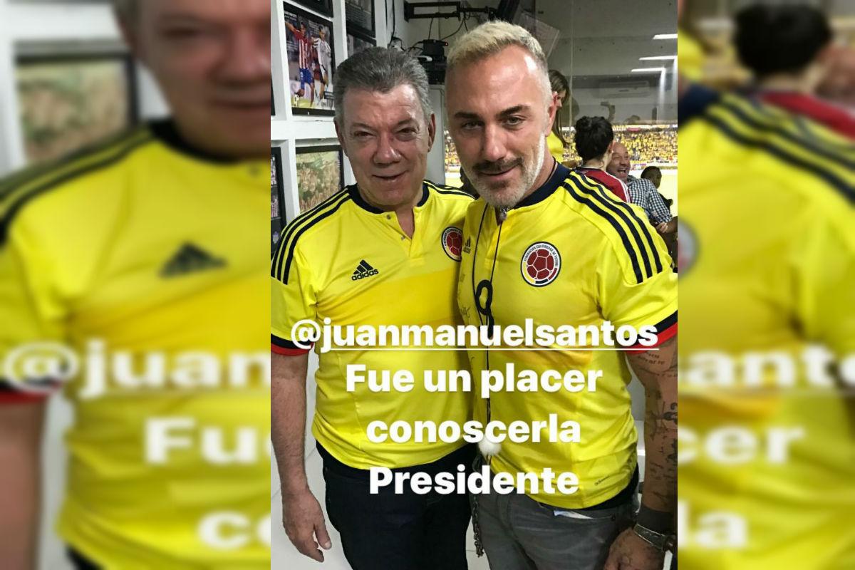 """Acusan a Gianliuca Vacchi de ser """"la sal"""" de la Selección Colombia"""