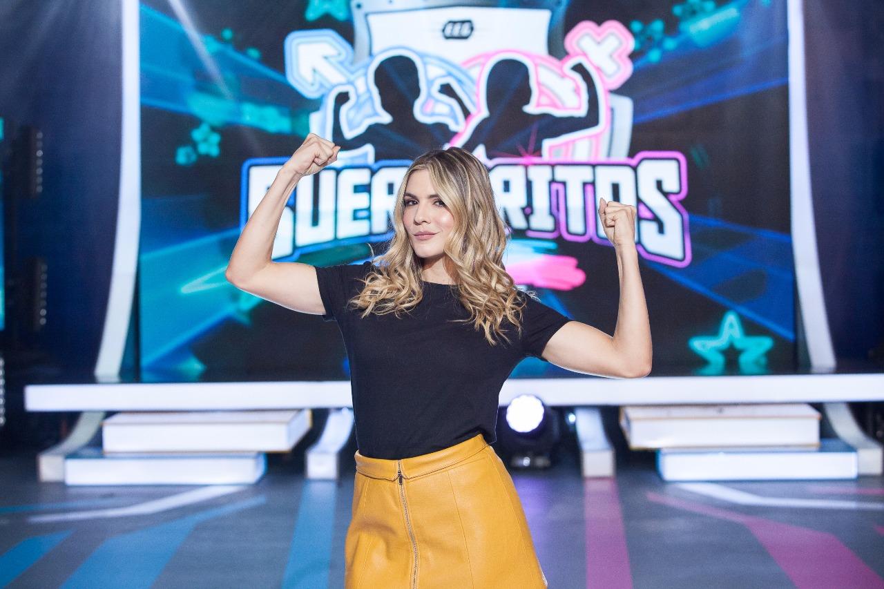 """Juliana Arango presentadora de """"Guerreritos"""" / FOTO: Antony Herrera - Digital Canal 1."""