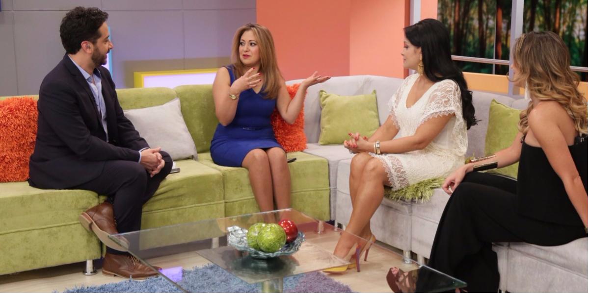 Esperanza Cruz puede comunicarse con el más allá - Foto: Digital Canal 1.