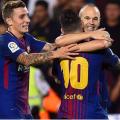 El Barcelona sigue firme en la punta de La Liga - Foto: Josep LAGO / AFP