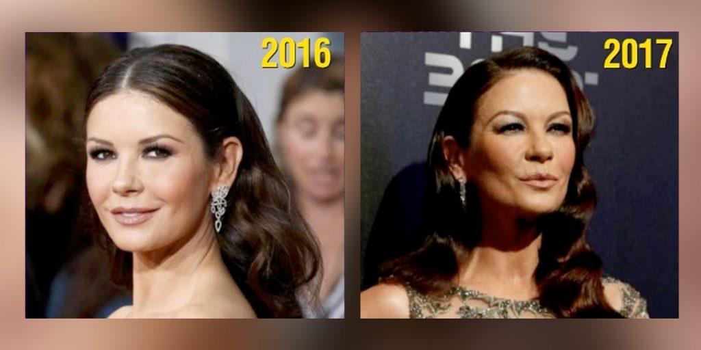 ¡Cambio extremo de Catherine Zeta Jones sorprende a sus seguidores!