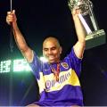 Chicho Serna fue campeón de la Copa Intercontinental con Boca ante el Real Madrid - Foto: KAZUHIRO NOGI / AFP