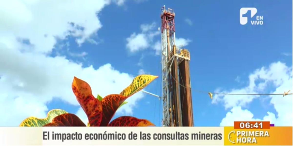 Los impactos que generan las consultas mineras - Foto: captura de pantalla.