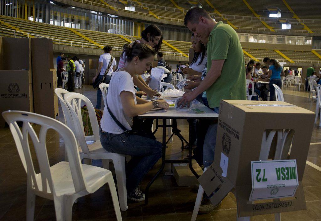 elecciones votaciones colombia afp