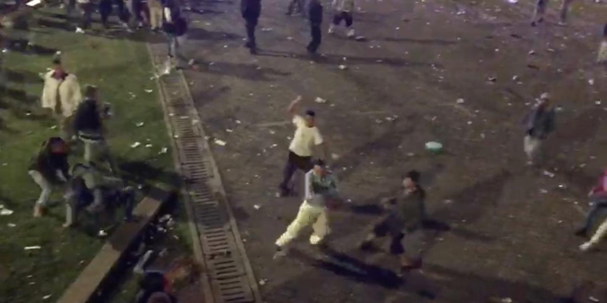 Festival  Hip Hop al Parque  termina en grave pelea a cuchillo 2907a0662eb