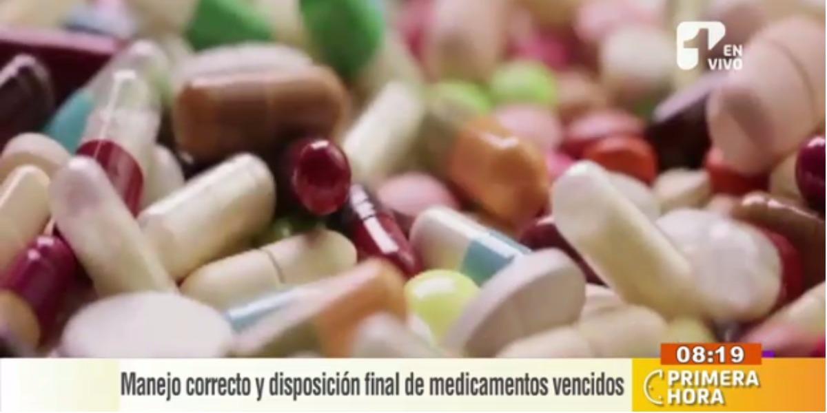 Aprenda a tratar los medicamentos vencidos - Foto: captura de pantalla.