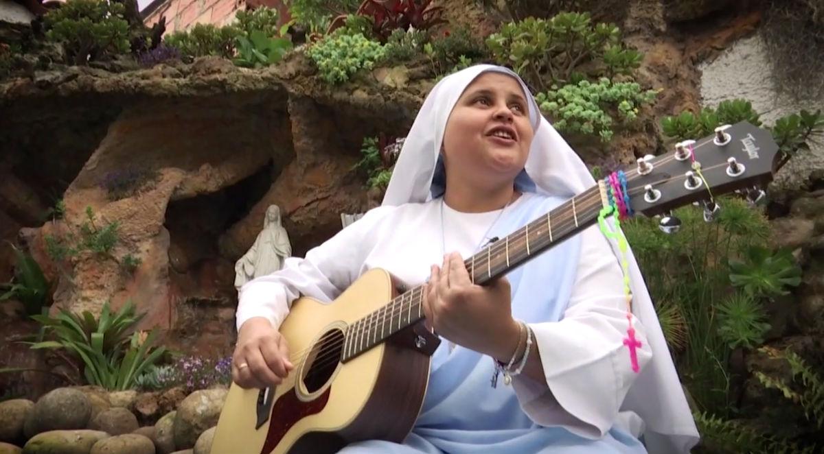 monja rapera maria valentina de los angeles venga le cuento