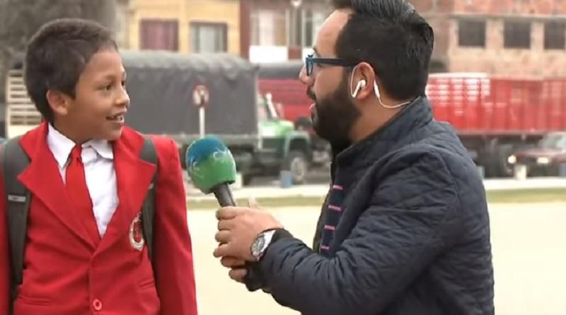 La historia que no conocías del niño que huyó de una entrevista por no llegar tarde al colegio