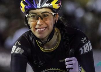 Mariana Pajón también ganó en la pista - Foto: JOAQUIN SARMIENTO / AFP