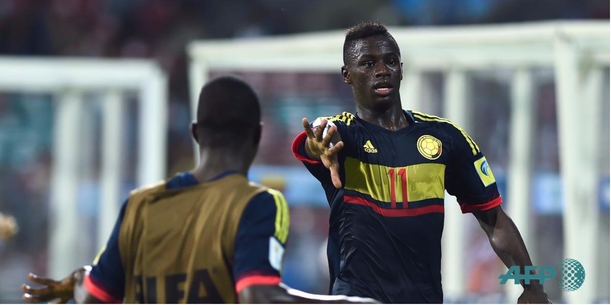 Peñaloza anotó otro gol en el Mundial - Foto: PUNIT PARANJPE / AFP