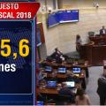 Aprobado el presupuesto de la nación para 2018 - Foto: captura de pantalla.