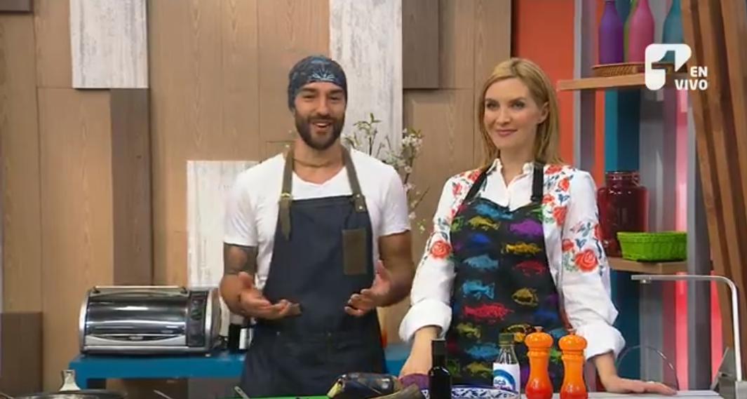 Mira la receta que Leo y Margarita prepararon en el programa - Foto: Captura de pantalla.