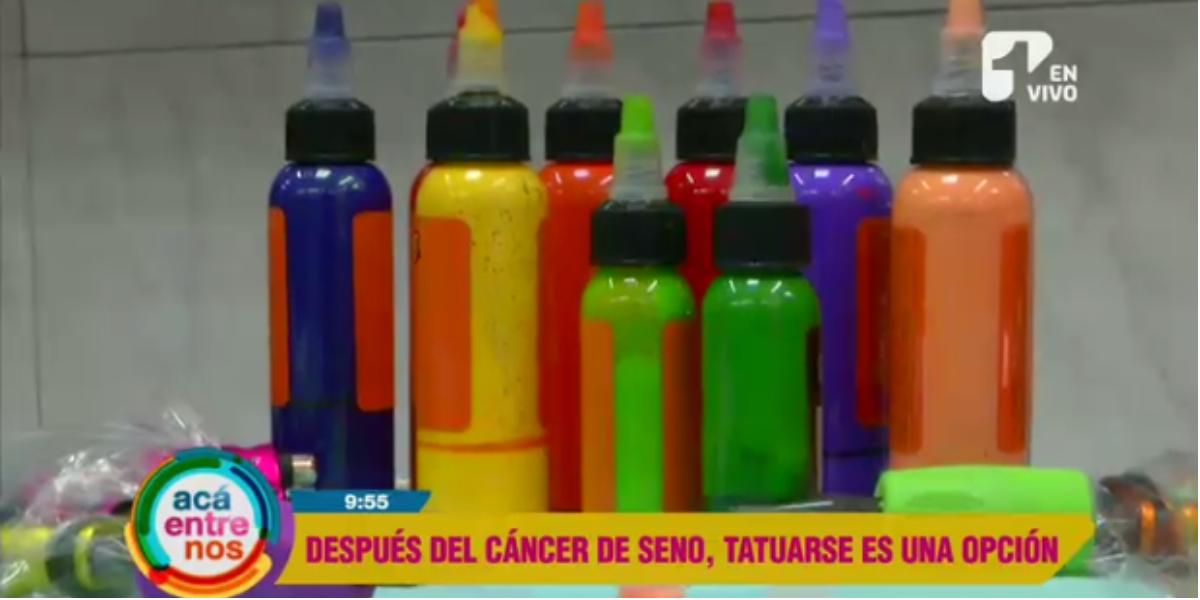 Tatuajes, una alternativa para pacientes tratadas con cáncer de mama - Foto: captura de pantalla.