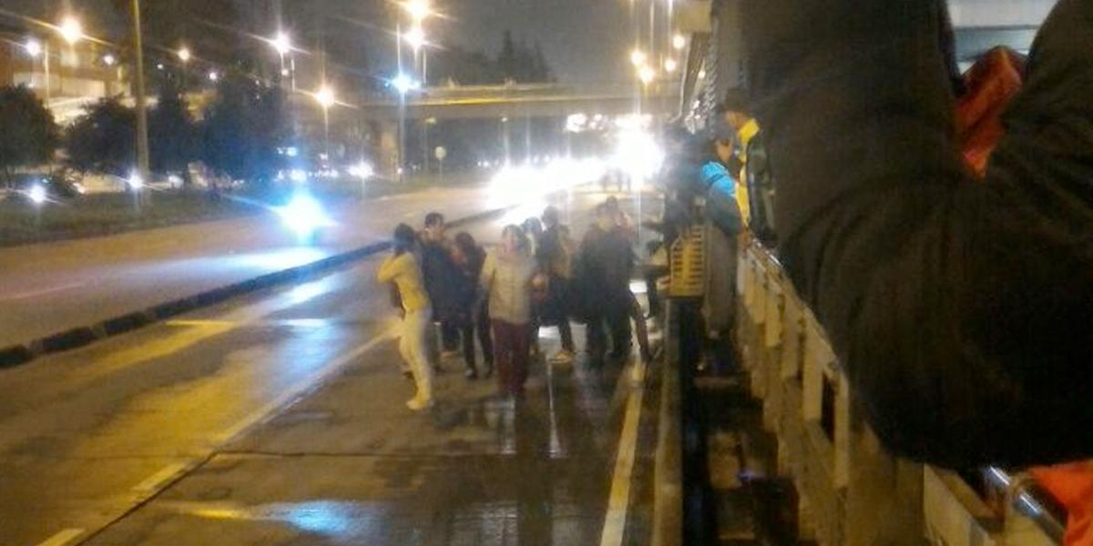 Accidente entre dos buses del sistema deja 30 heridos — TransMilenio