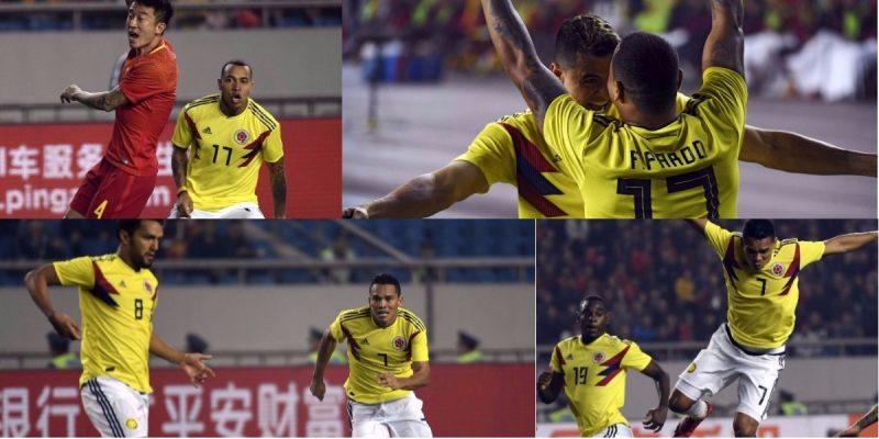 Las mejores fotos de Colombia ante China - Foto: SRT / AFP