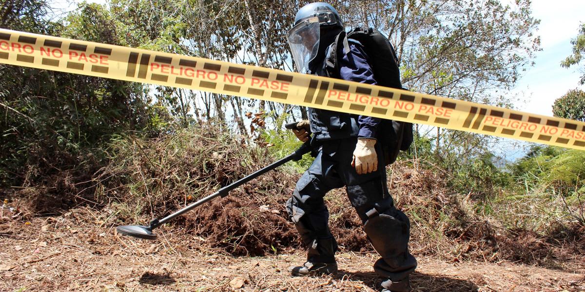 Gobierno anuncia desminado humanitario en Chocó