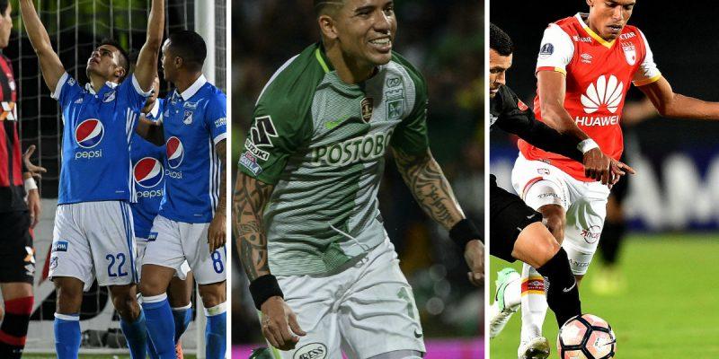 millonarios atlético nacional santa fe equipos del futbol colombiano afp