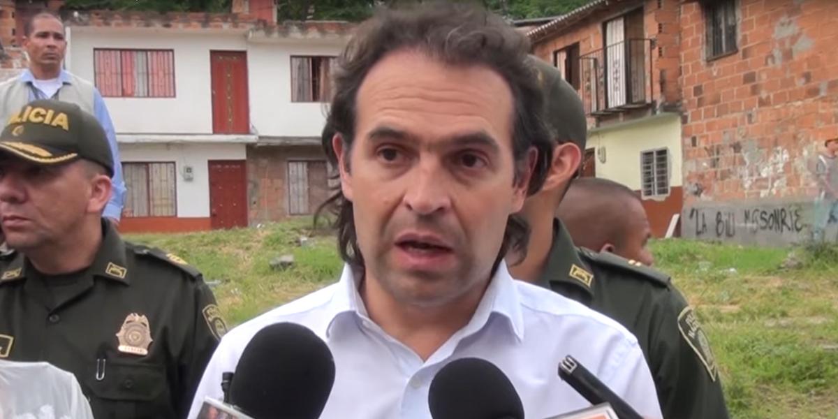 Revelan nuevo plan para atentar contra el alcalde Federico Gutiérrez