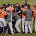 Los Astros ganaron la Serie Mundial - Foto; KEVORK DJANSEZIAN / GETTY IMAGES NORTH AMERICA / AFP