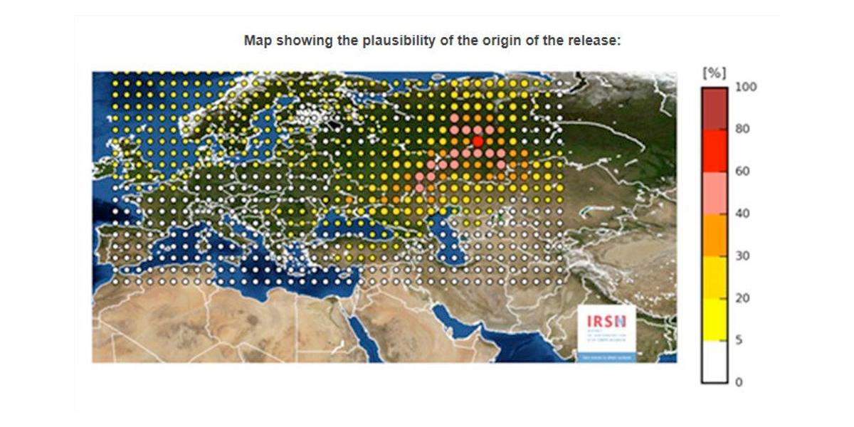 Accidente nuclear envía una nube radioactiva sobre Europa