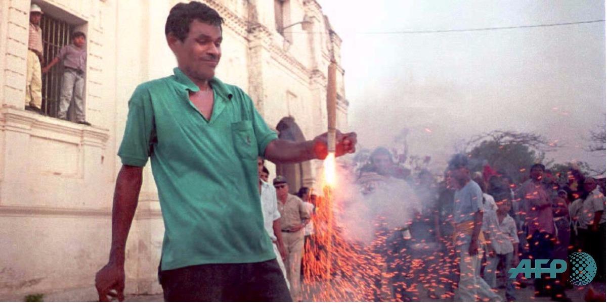 Las zonas con más quemados con polvora en Colombia - Foto: PEDRO LINGER / AFP