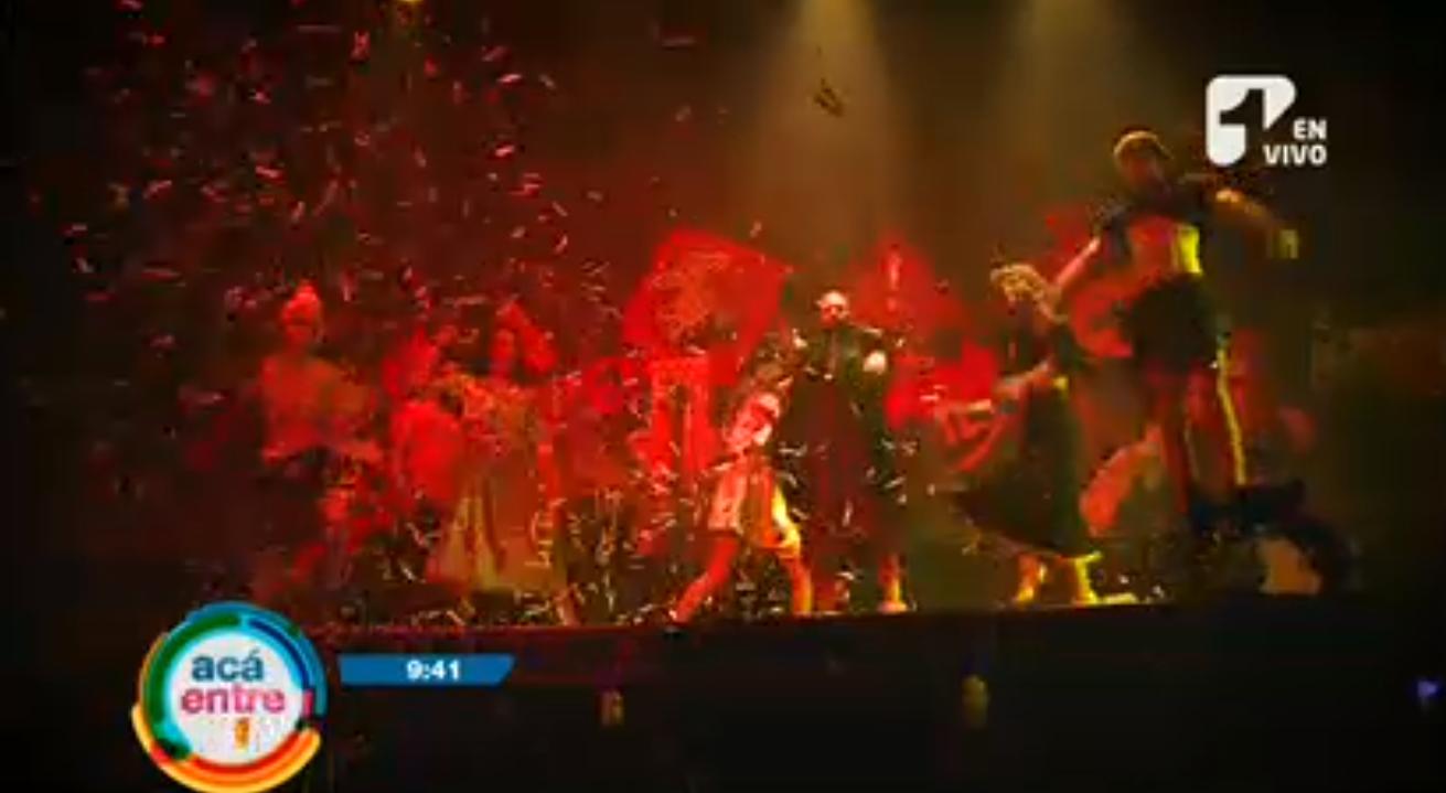 """Teatro, circo y mucha acción en la obra """"El grito"""""""