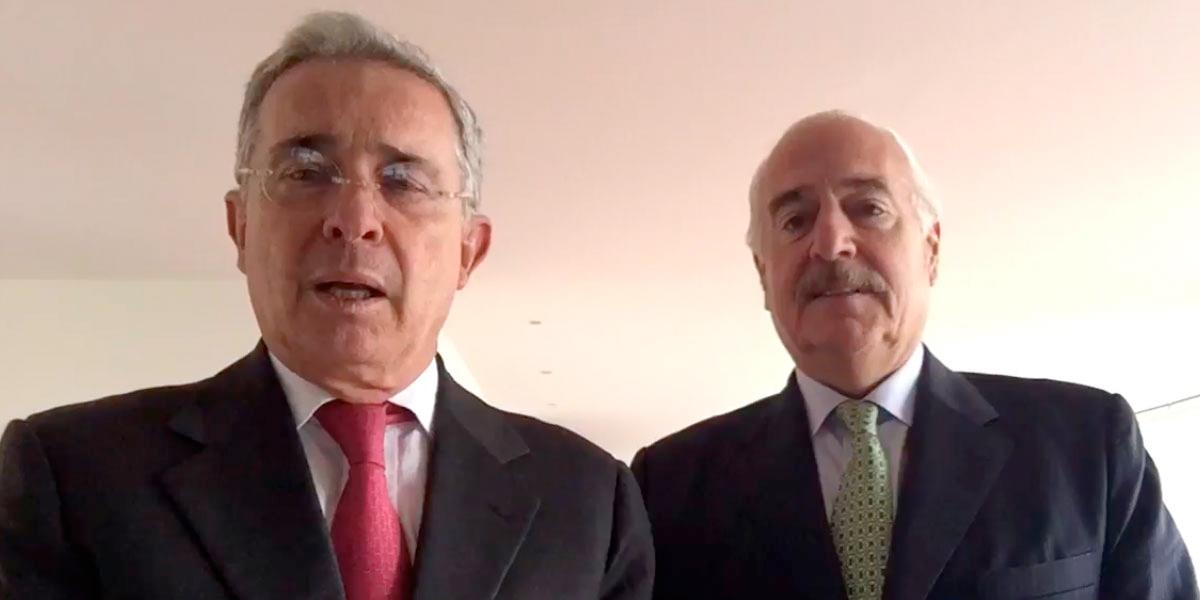 Uribe y Pastrana confirman alianza política para elecciones presidenciales