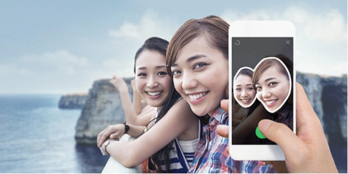 Esta app te permite crear tus propios stickers - Foto: Line.