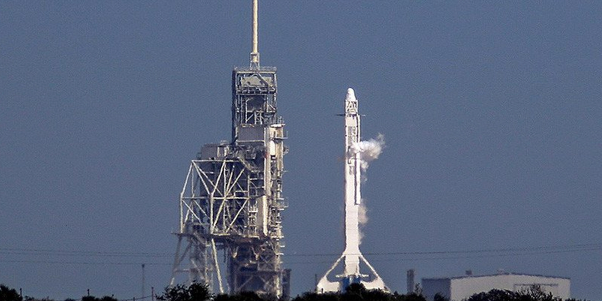 Por primera vez, la NASA lanza un cohete reutilizado de SpaceX