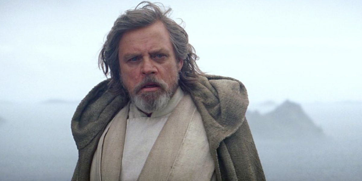 Mark Hamill lamenta crítica a Luke Skywalker de 'Star Wars: The Last Jedi'