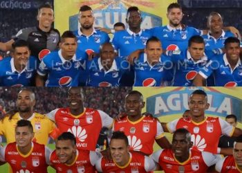 Los números en la Liga Águila de Millonarios y Santa Fe - Fotos: cortesía de @MillosFCoficial e Independientesantafe.com
