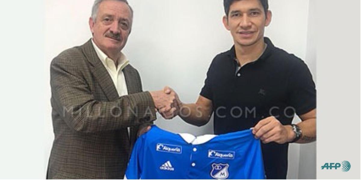 Roberto Ovelar es nuevo jugador de Millonarios