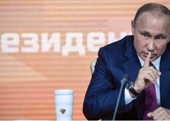 Putin acusó directamente a EEUU - Foto: ALEXANDER NEMENOV / AFP