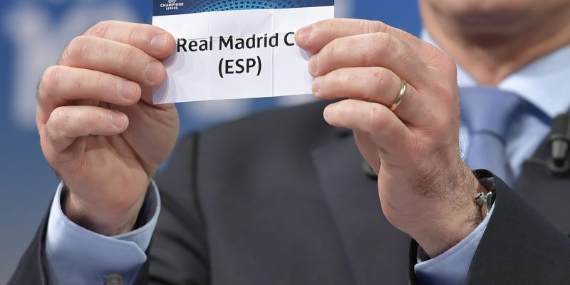 real madrid champions league sorteo