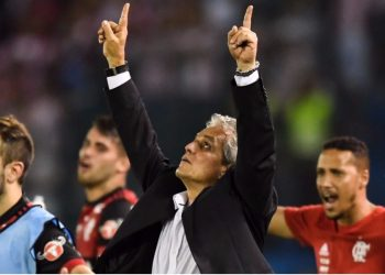 Reinaldo Rueda quiere ganar su primer título con Flamengo - Foto: LUIS ACOSTA / AFP
