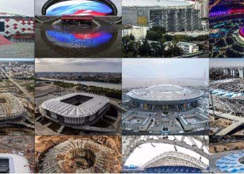 Este será el clima en las sedes del Mundial Rusia 2018 - Foto: STR, ROMAN KRUCHININ, DMITRY SEREBRYAKOV, MLADEN ANTONOV, FRANCOIS XAVIER MARIT, RUSLAN SHAMUKOV / AFP